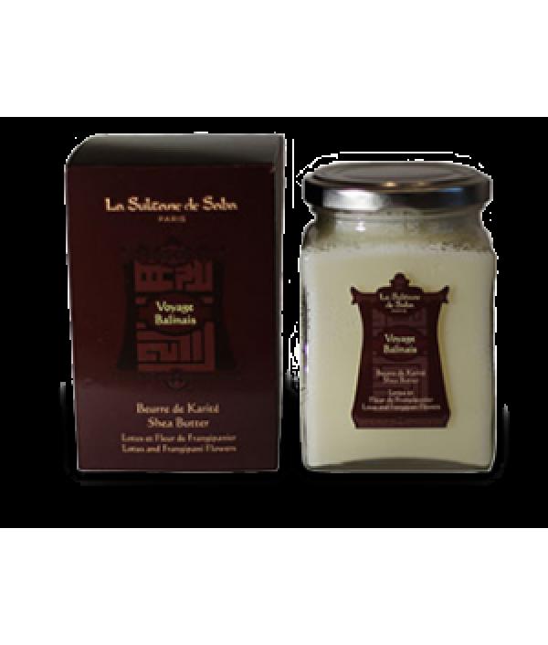 Масло карите Лотос/Франжипани для лица, тела, волос