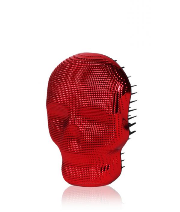 Расческа для волос Красный хром