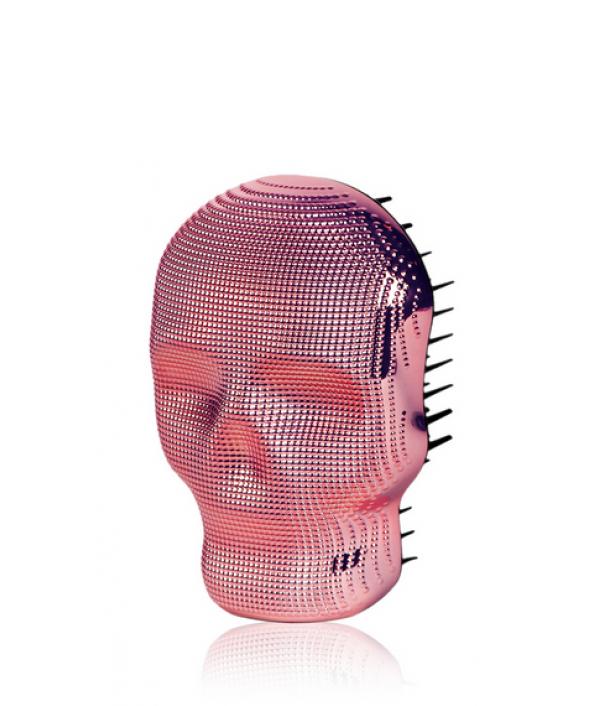 Расческа для волос Розовый хром